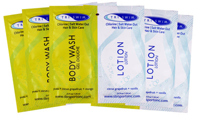 TRISWIM Body Wash | Lotion Samples (5)