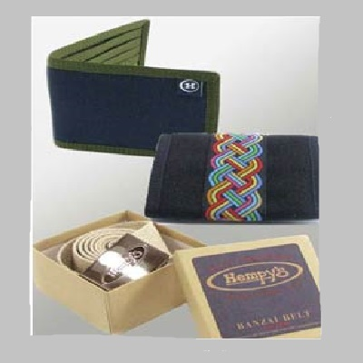 Hemp Wallets and Belts