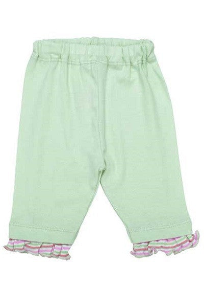 Girl's Ruffle Cuff Pants - Natural Clothing Company