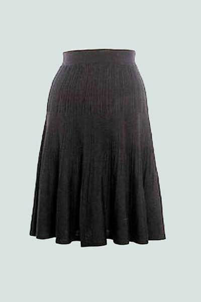 Wool Skirt - Josephine - Natural Clothing Company