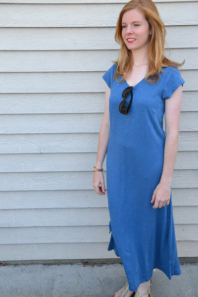 Bamboo Long Dress - Maddie - Natural Clothing Company
