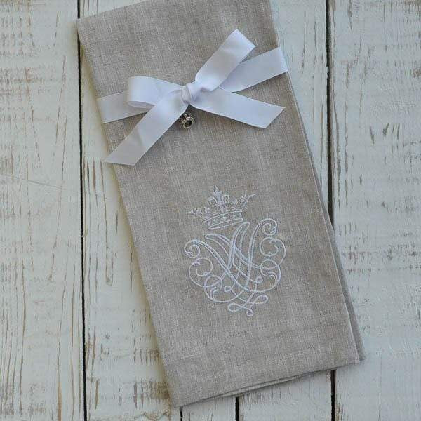 Cotton Embroidered Finger Towel