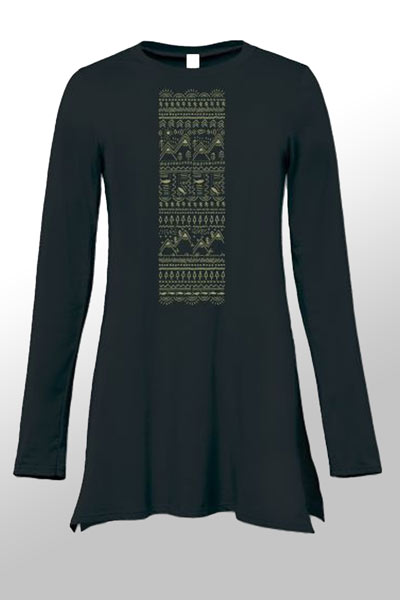 Organic Cotton Tunic - Drawn to Nature