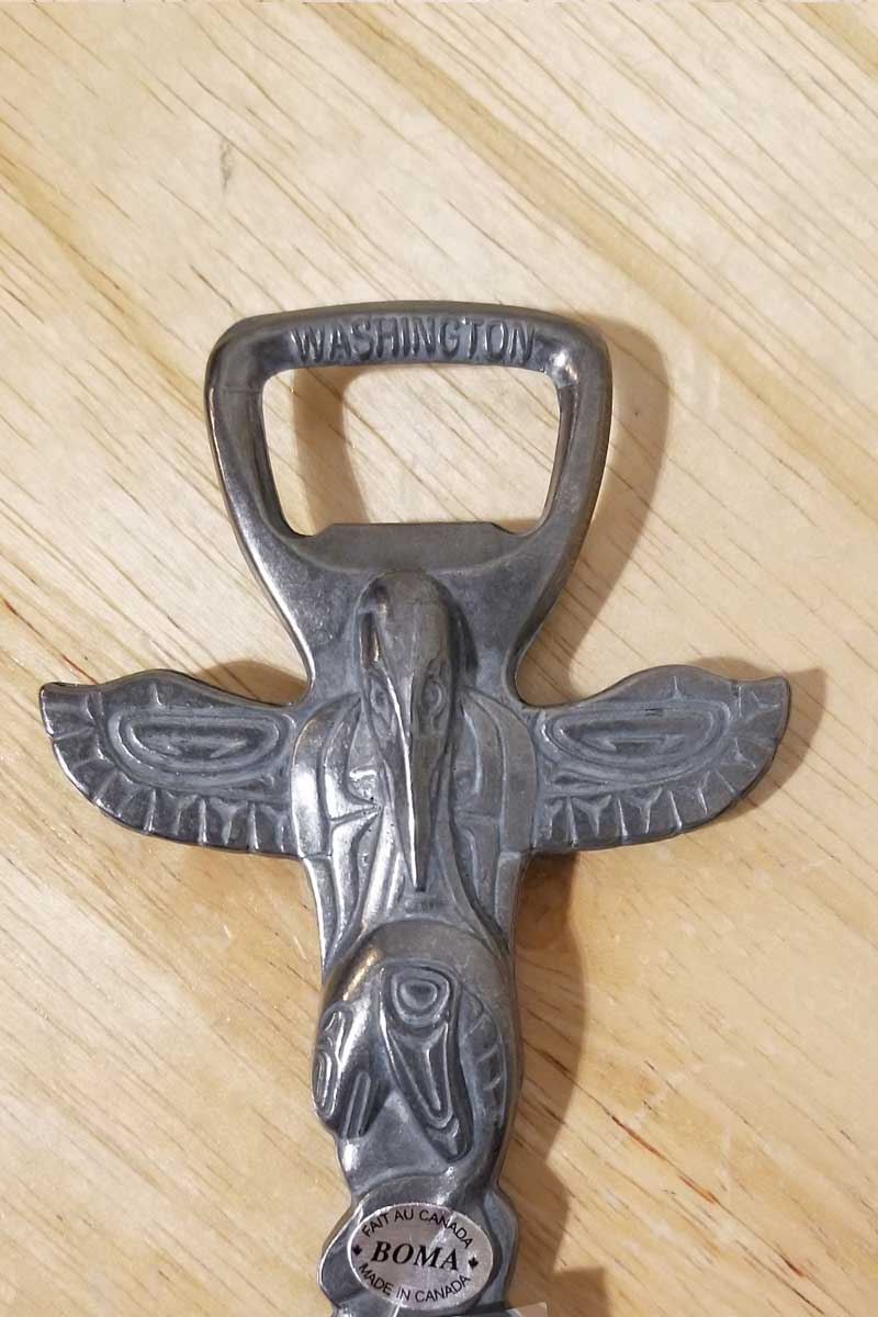 Totem Pole - bottle opener