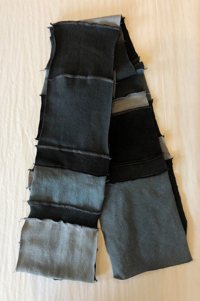 Hemp Patchwork Scarf - unisex - Natural Clothing Company
