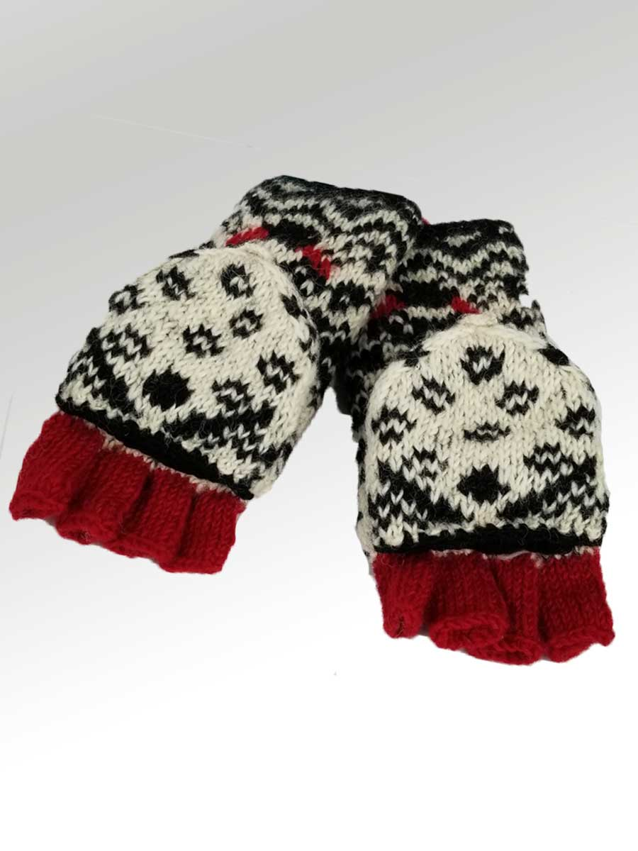 Convertible Mittens - Natural