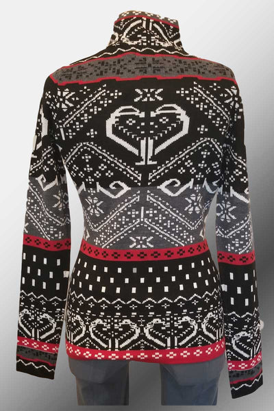 Icelandic Design Wool Sweater - Gardenia Half-Zipper - Natural Clothing Company