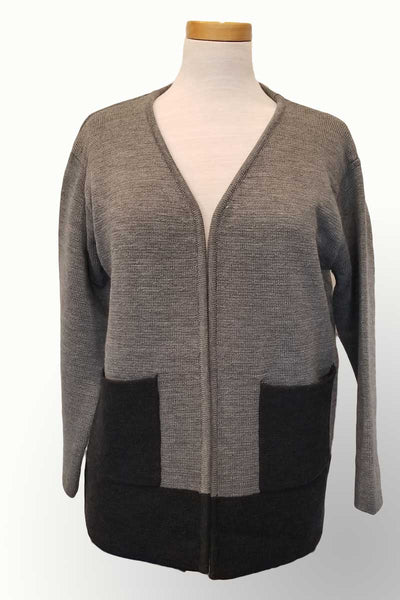 Icelandic Design Wool Sweater Jacket- Jonquil - Natural Clothing Company