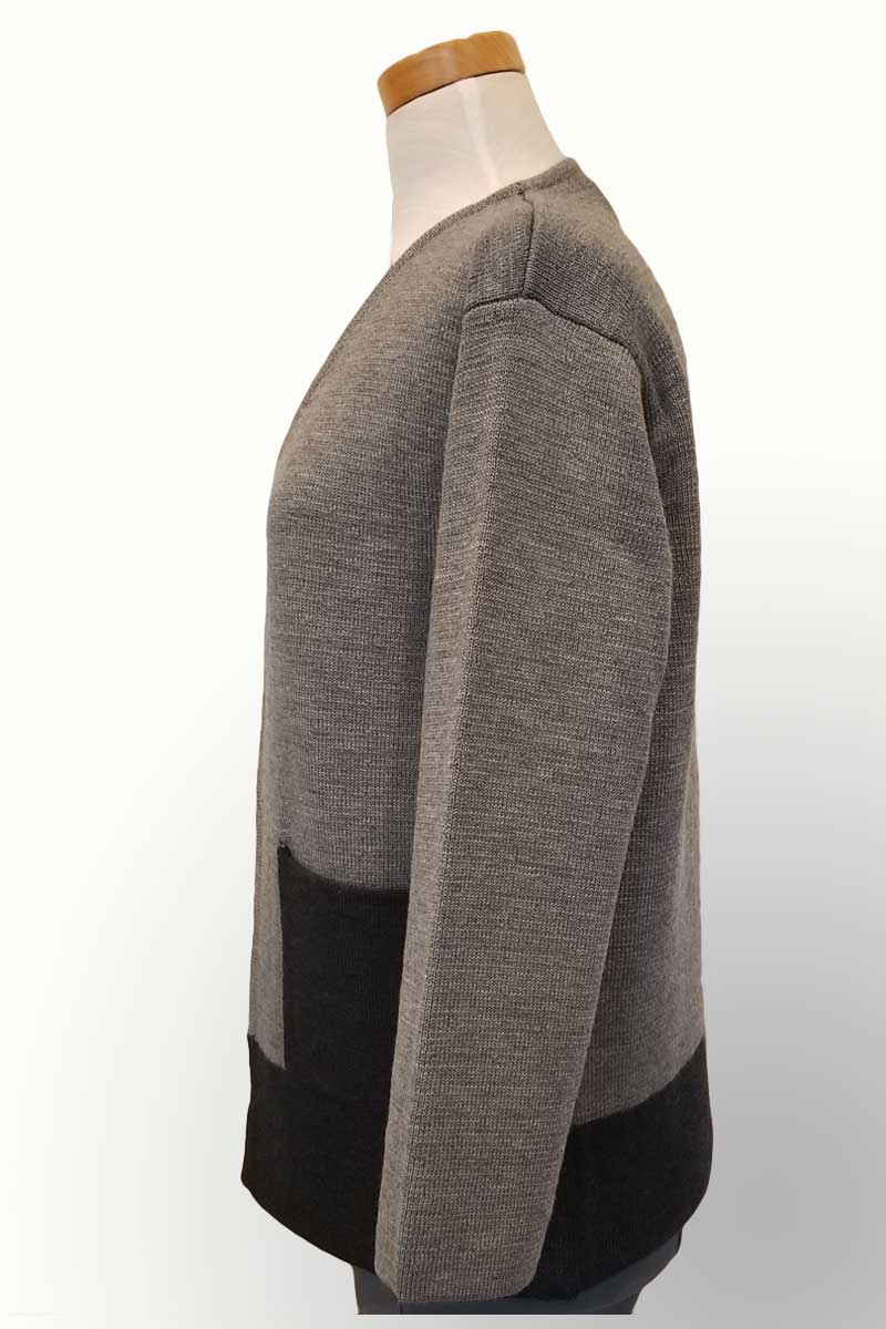 Icelandic Design Wool Sweater Jacket - Jonquil - Natural Clothing Company