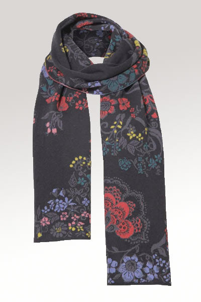 Wool Scarf from Ivko - Floral