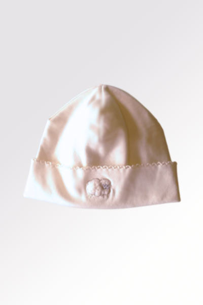 0b8ac01ff40 ... Baby Organic Cotton Hat - Lamb - Natural Clothing Company ...