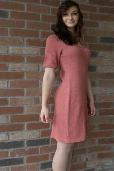 Milano Hemp/Flax Dress - Natural Clothing Company