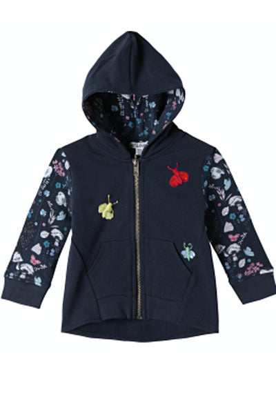 Kangaroo Pocket Hoodie  - Natalie, kids 2T to 5T - Natural Clothing Company