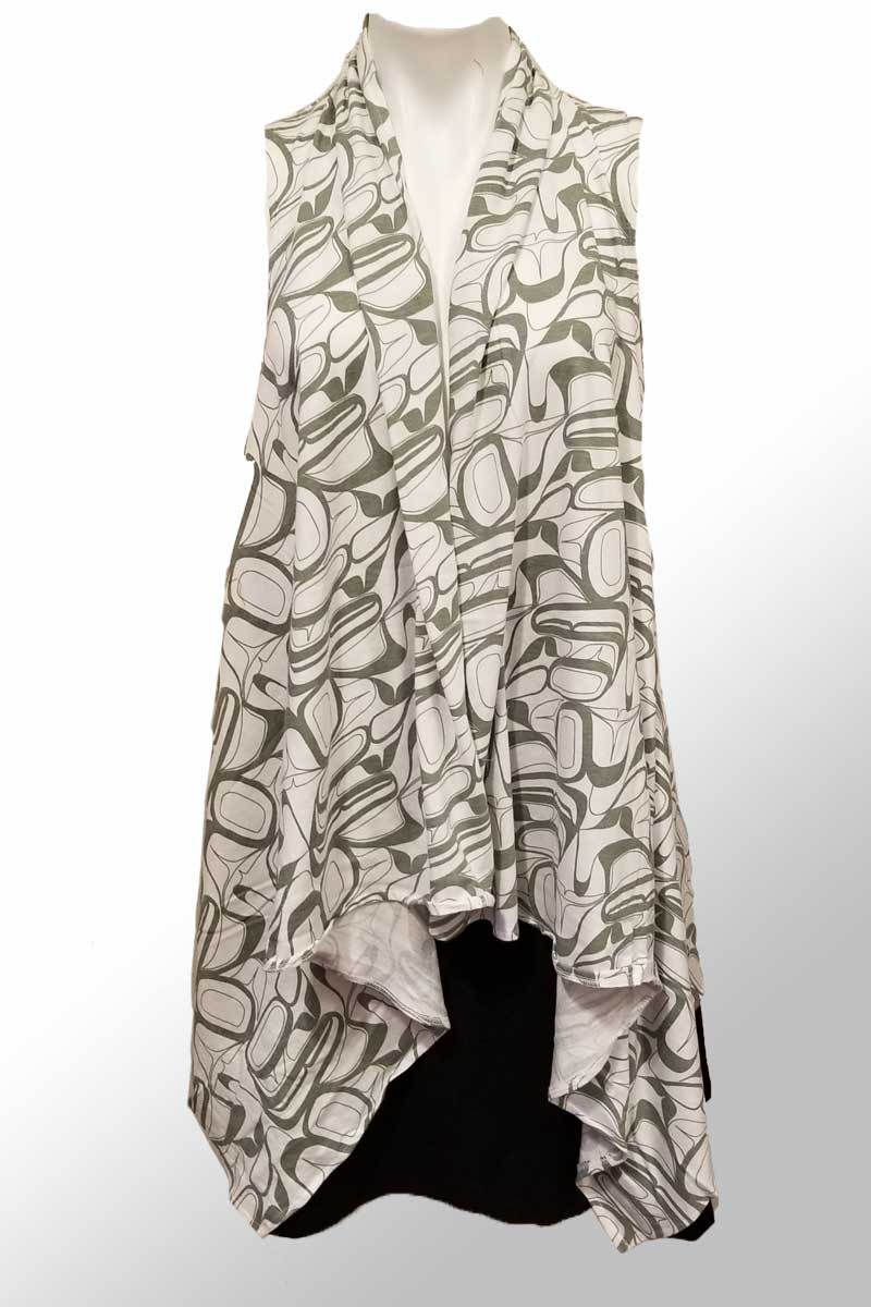 Abstract Art Vest - by Kelly Robinson