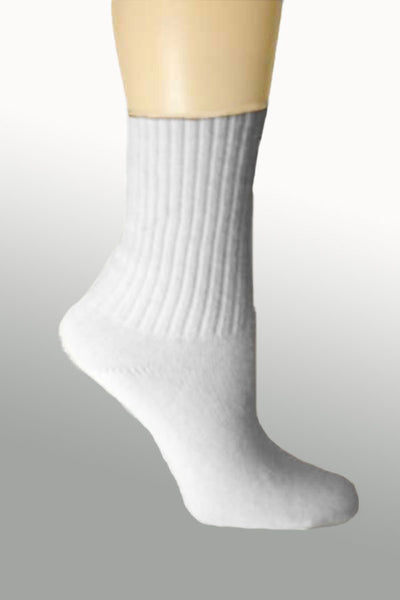 Women's Organic Cotton Socks 9-11 white - Natural Clothing Company