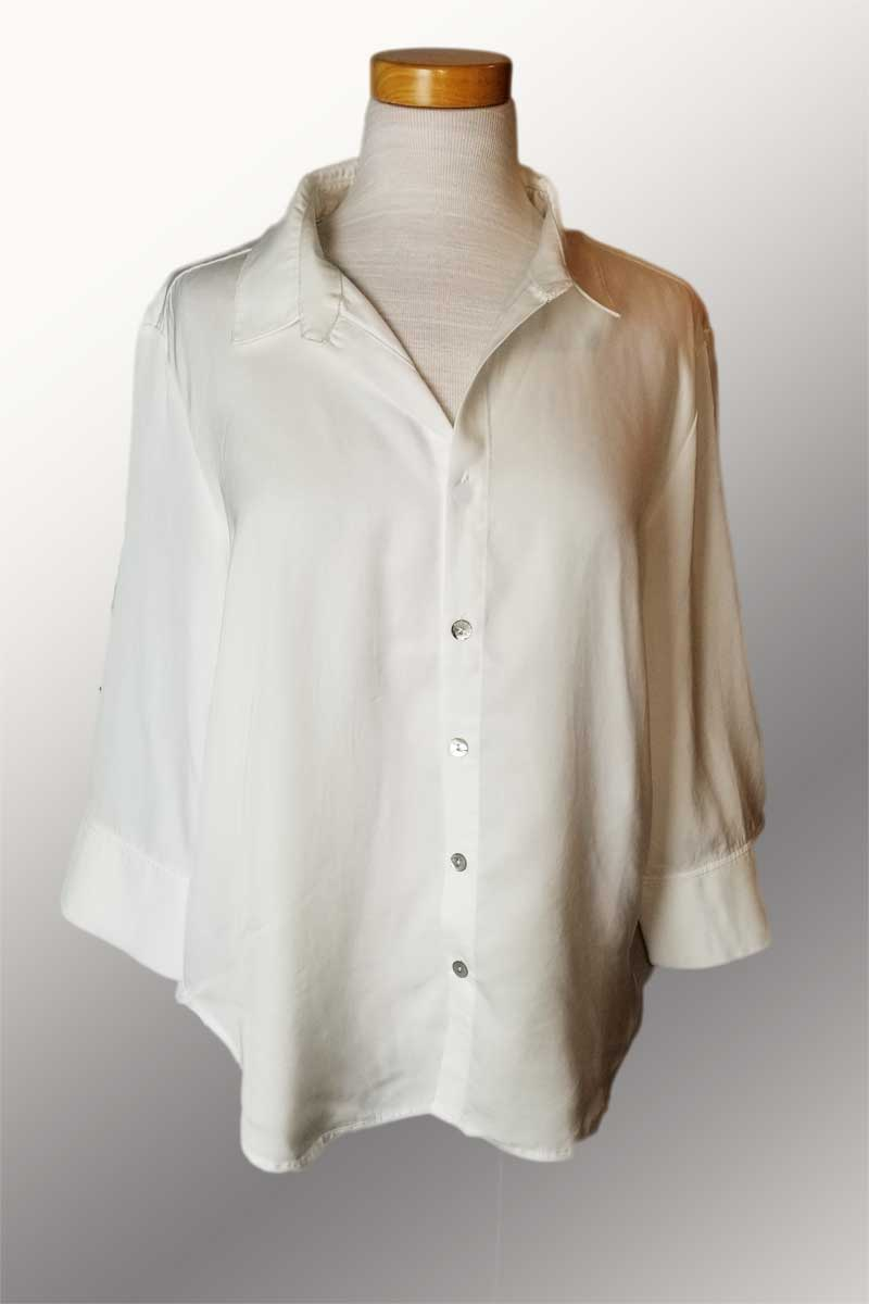 Tencel Classic Shirt - 3/4 Cuff Sleeve