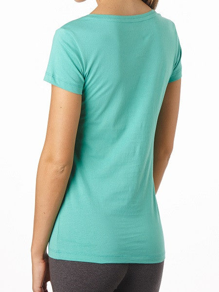 Organic Cotton Tee - V-neck - Natural Clothing Company
