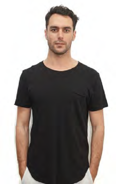 Men's Organic Cotton Crew Neck - Warren Tee shirt - Natural Clothing Company