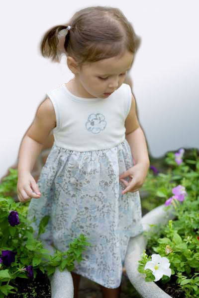 Organic Cotton Girl's Dress - 12 to 18 mo. - Natural Clothing Company