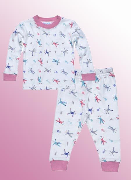 Organic Long Johns (PJs) Set - Natural Clothing Company