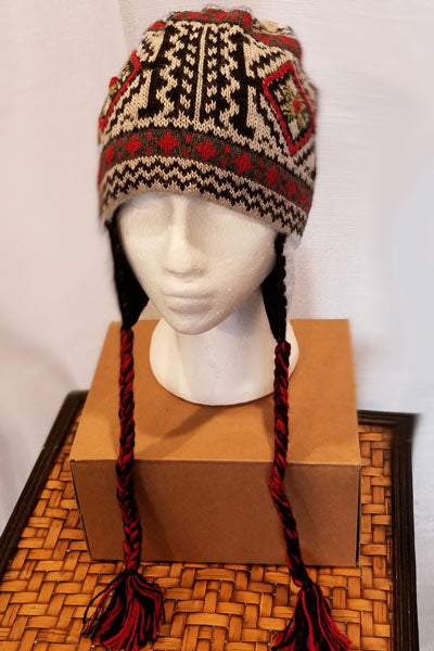 Alpaca Blend Lined Hat - Kaitlyn - Natural Clothing Company