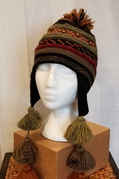 Alpaca Blend Lined Hat - Libby - Natural Clothing Company