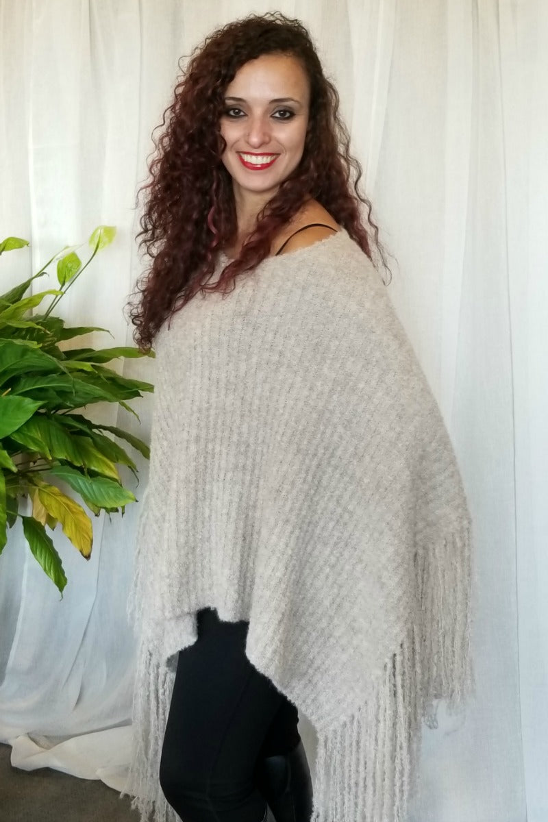 Alpaca Poncho - Natural Clothing Company