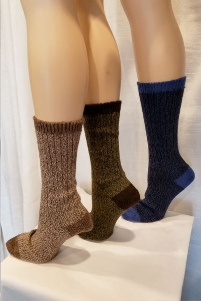 Alpaca Blend Socks - Twist Yarn - Natural Clothing Company