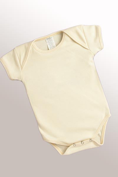 Organic Cotton Onesie for Baby (6-12 mo.) - Natural Clothing Company