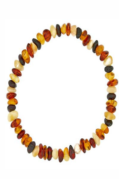 Baltic Amber Bracelet - multicolor