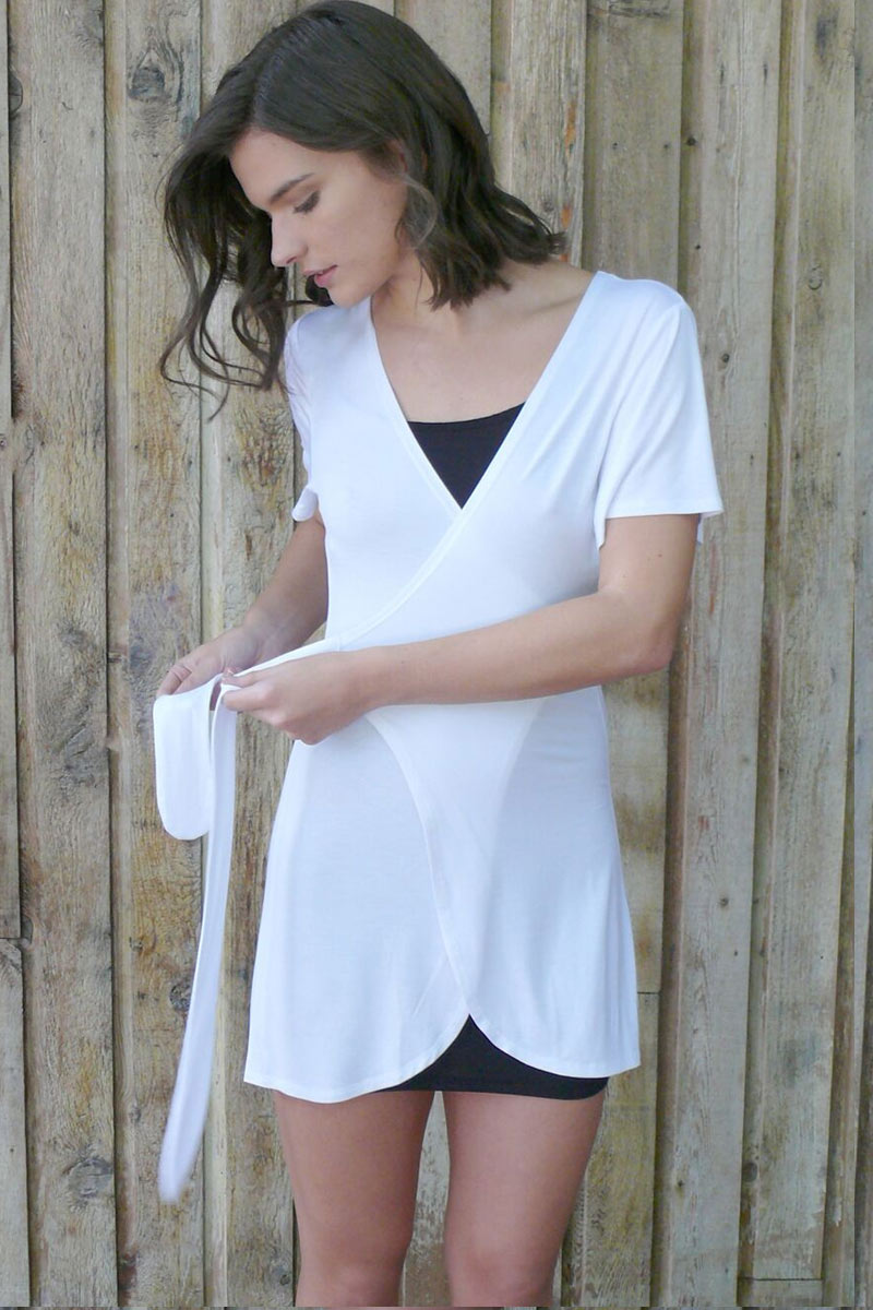 Comfort Intimates - Women's Robe, viscose from bamboo - Natural Clothing Company