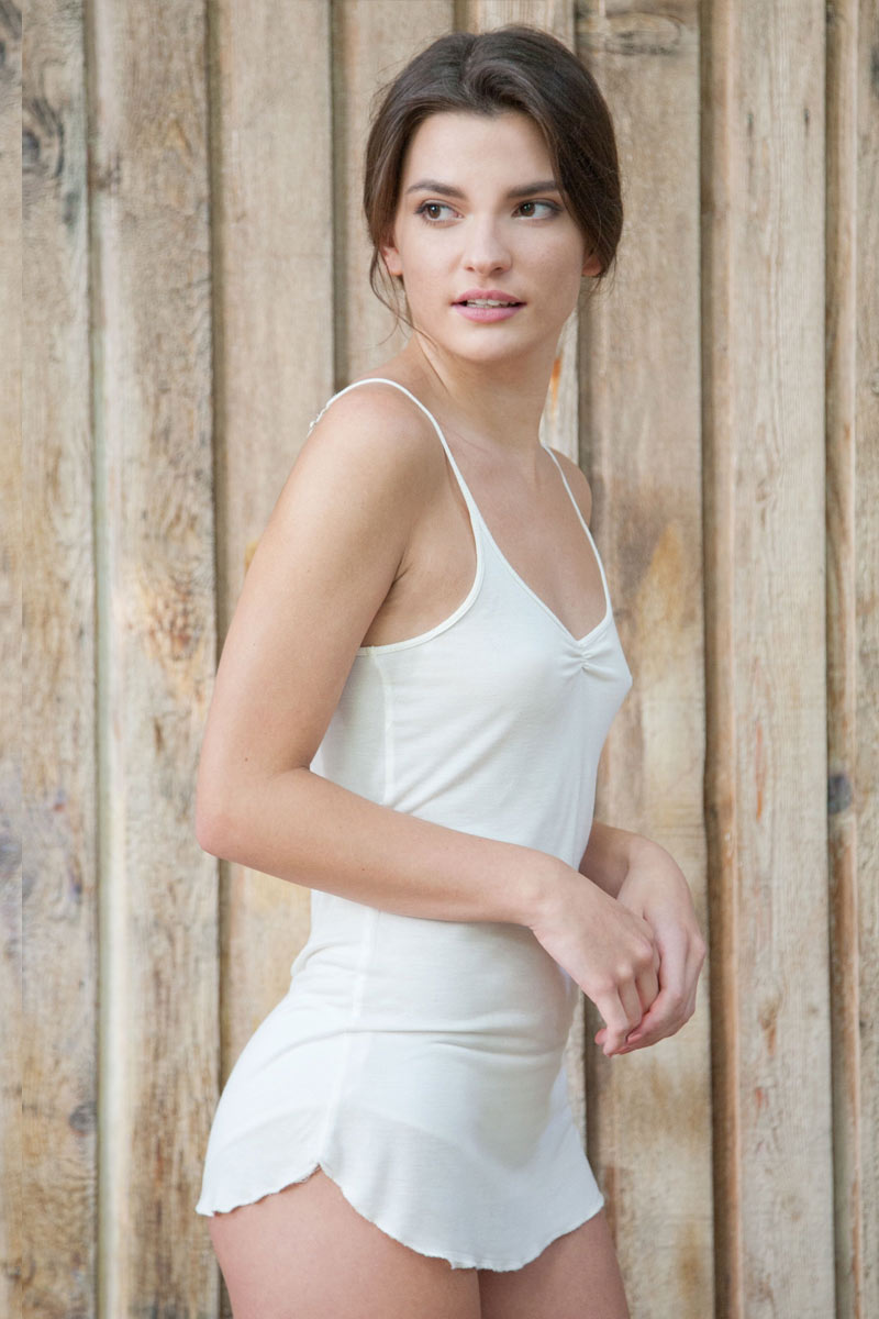Comfort Intimates - Light Tank, viscose from bamboo - Natural Clothing Company