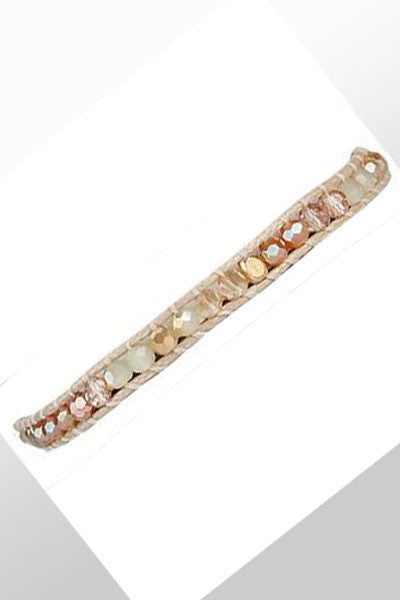 Beaded Single Bracelet - Natural Clothing Company