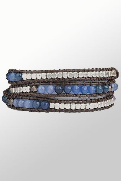 Beaded Wrap Bracelet - Natural Clothing Company