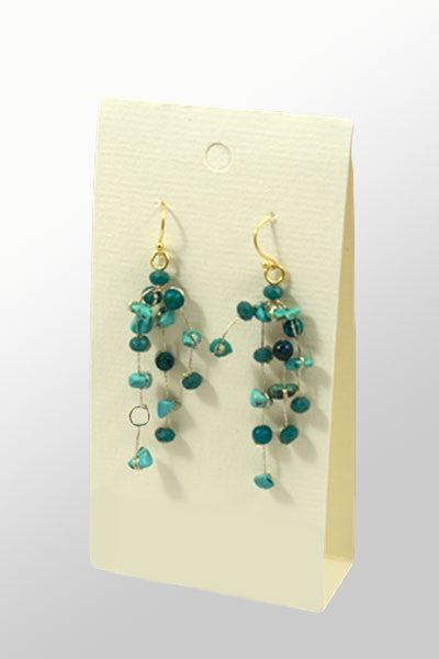 Semi-Precious Stone Earrings