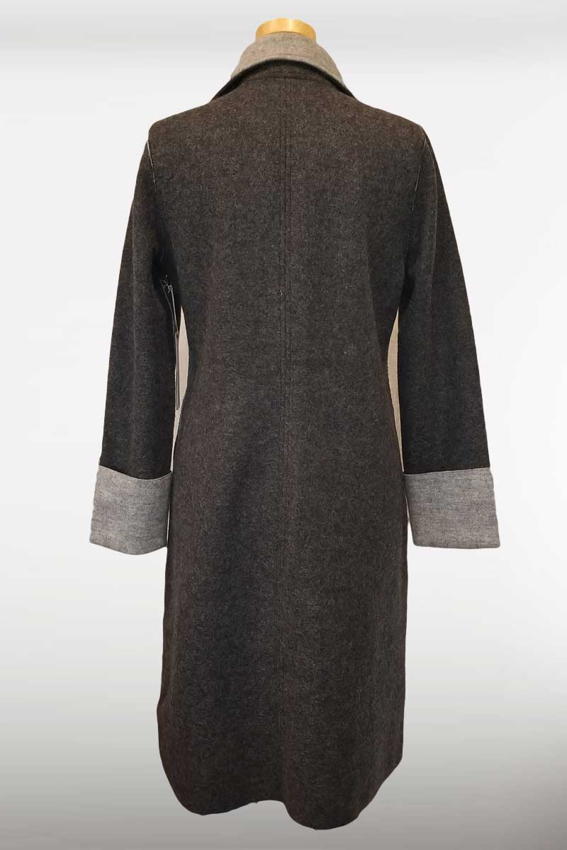 Alpaca Wool Coat - Natural Clothing Company