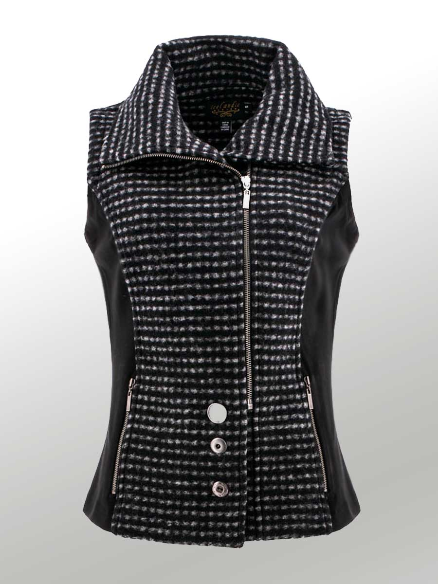 Icelandic Design Plaid Vest - Jaya
