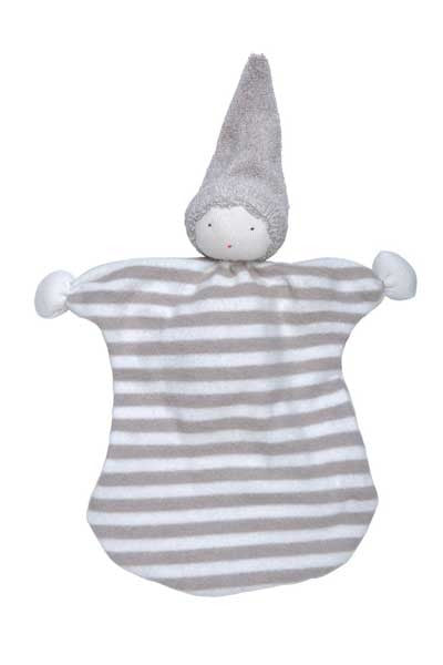 Baby Organic Cotton Sleeping Friend - Stripes - Natural Clothing Company