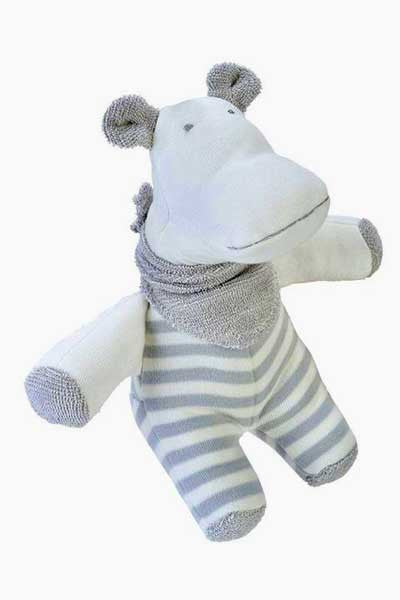 Baby Organic Cotton Animal Friends Toy - Natural Clothing Company