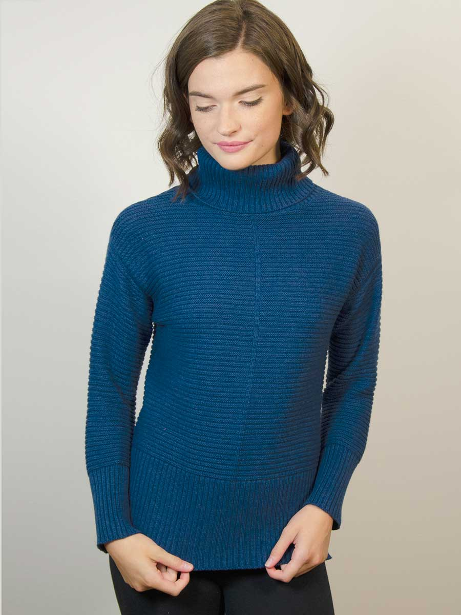 Chunky Cowl Sweater - Cashmere blend (S & XL only)