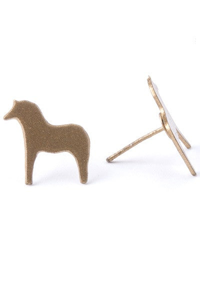 Horse Earrings - Natural Clothing Company
