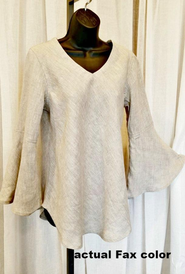 Felicity Linen Tunic - Natural Clothing Company