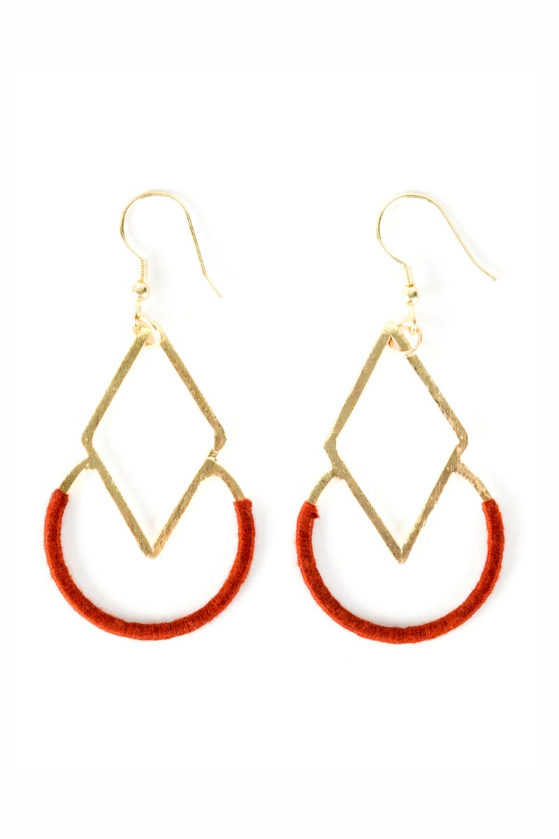 Fair Trade Earrings - Graphic Threads - Natural Clothing Company