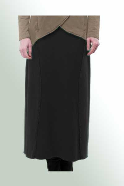 French Terry Timeless Skirt - Natural Clothing Company