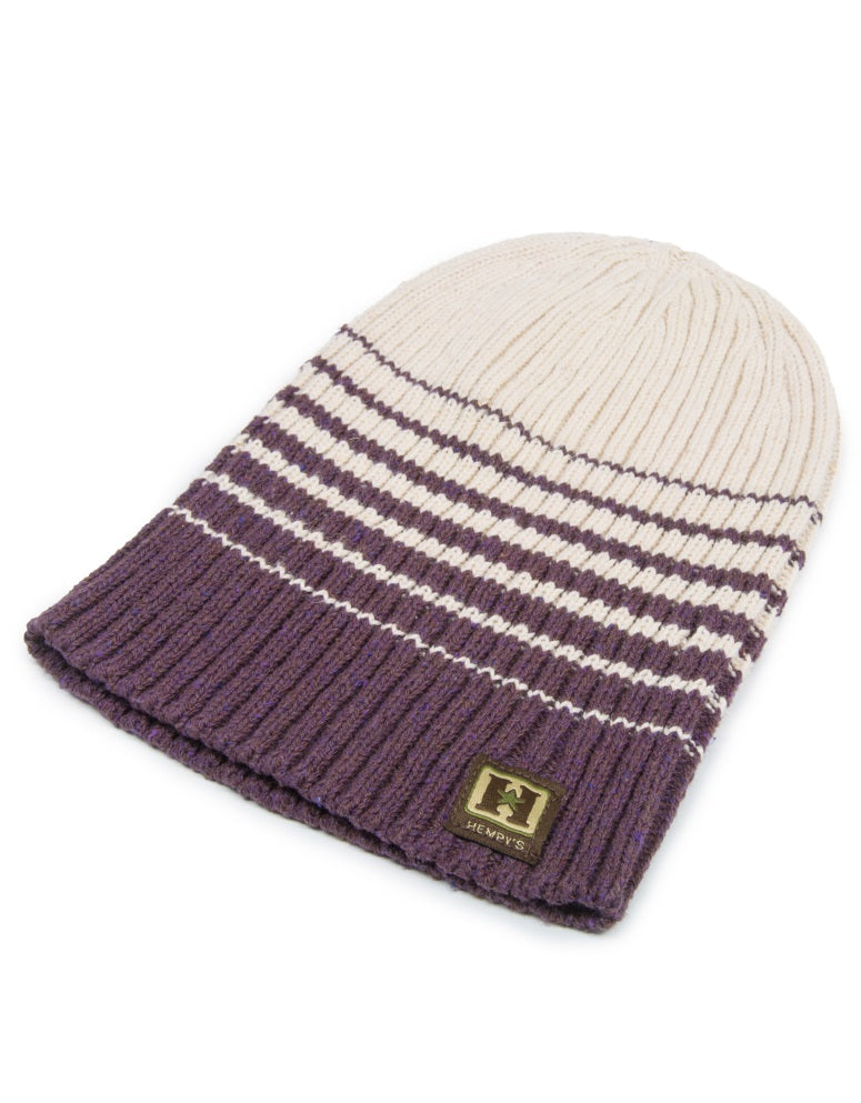 Eco Yarn and Hemp Blend Beanie - Summit - Natural Clothing Company
