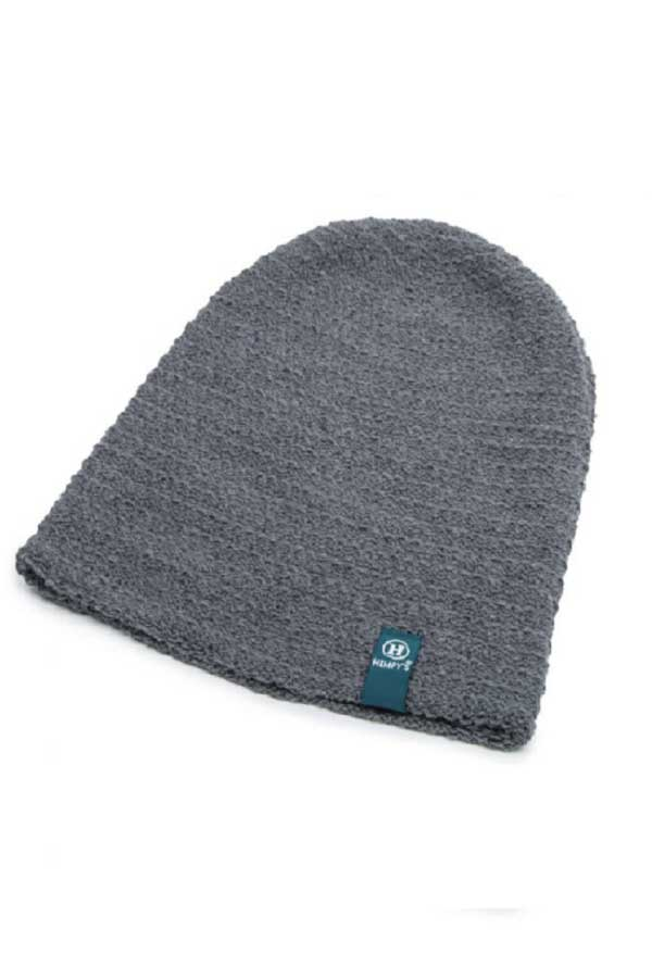 Eco Yarn and Hemp Blend Beanie - Flatline