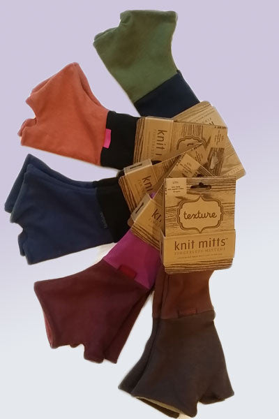 Hemp Two-Tone Mitts - Natural Clothing Company