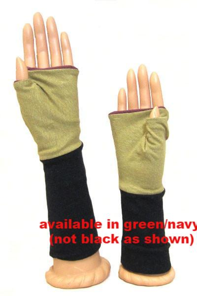 Hemp Knit Mitts - Natural Clothing Company