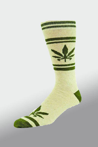 Women's Hemp Leaf Socks 9-11