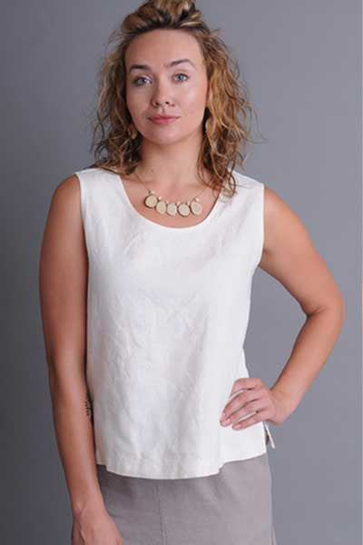 Hemp and Tencel Tank Top - Natural Clothing Company